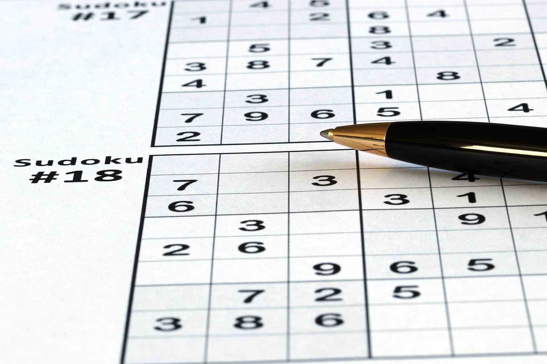 spielanleitung von sudoku