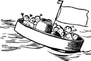alle mann an bord