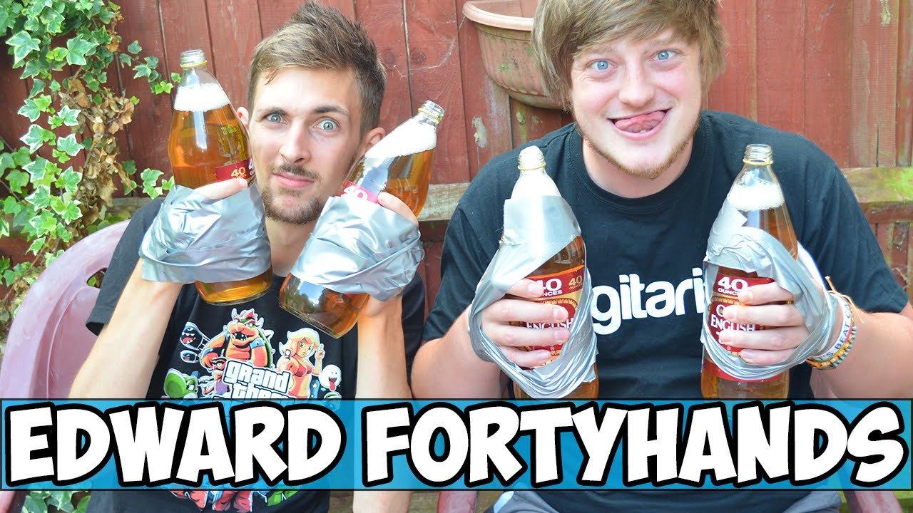 Edward Fortyhands Trinkspiel