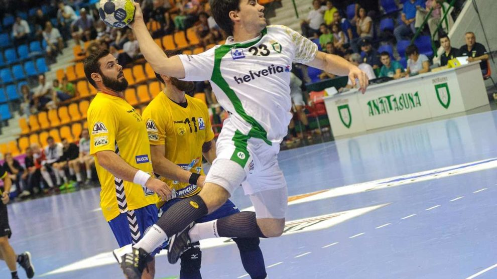 anwurf beim handball