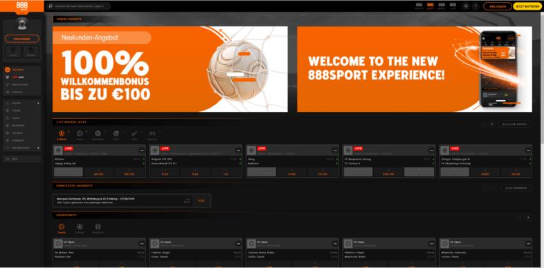 sportWebseite