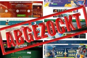Betrug und Abzocke im online Casino