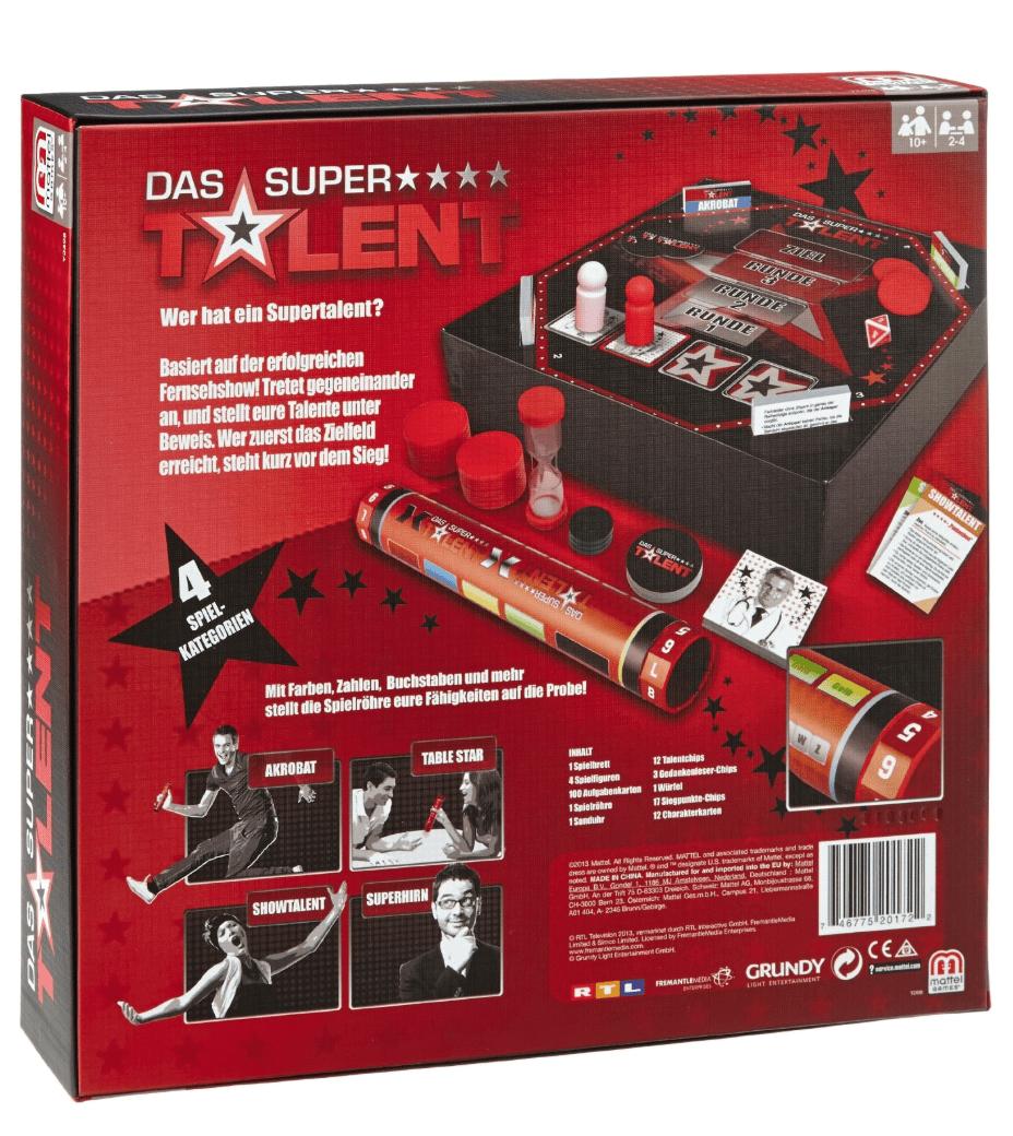 Das Supertalent Brettspiel