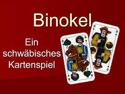 Binokel einaltschwäbischesKartenspiel