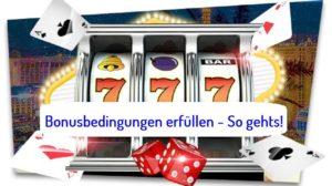 Bonus Regeln im Online Casino