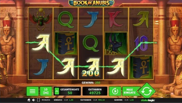 Book of Anubis Spielregeln