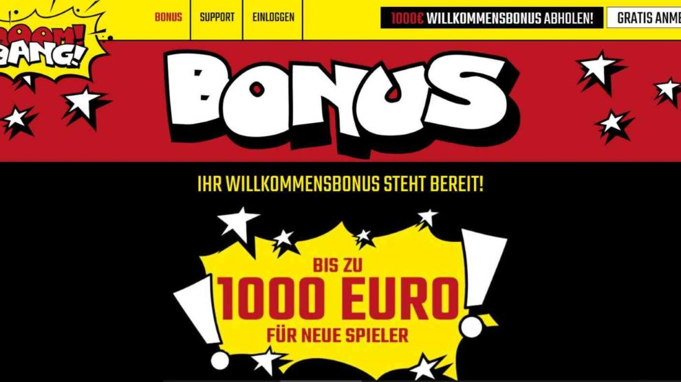 Boom Bang Bonus
