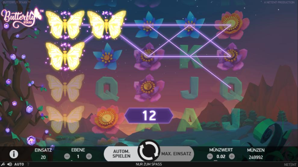 Butterfly Staxx kostenlos spielen