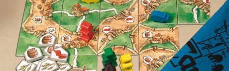 Carcassonne Händler und Baumeister