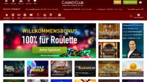 CasinoClub Startseite