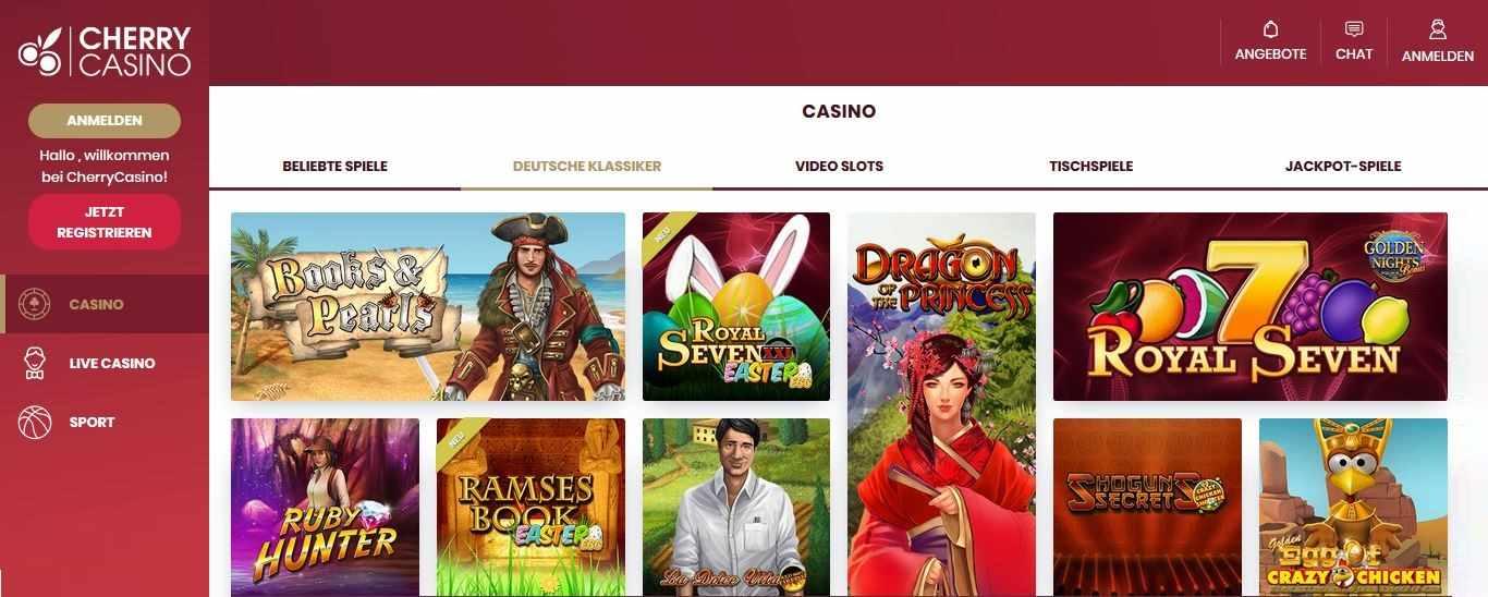 Cherry Casino Deutsche Klassiker