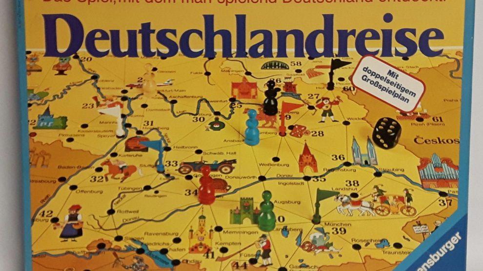 Deutschlandreise Spielanleitung