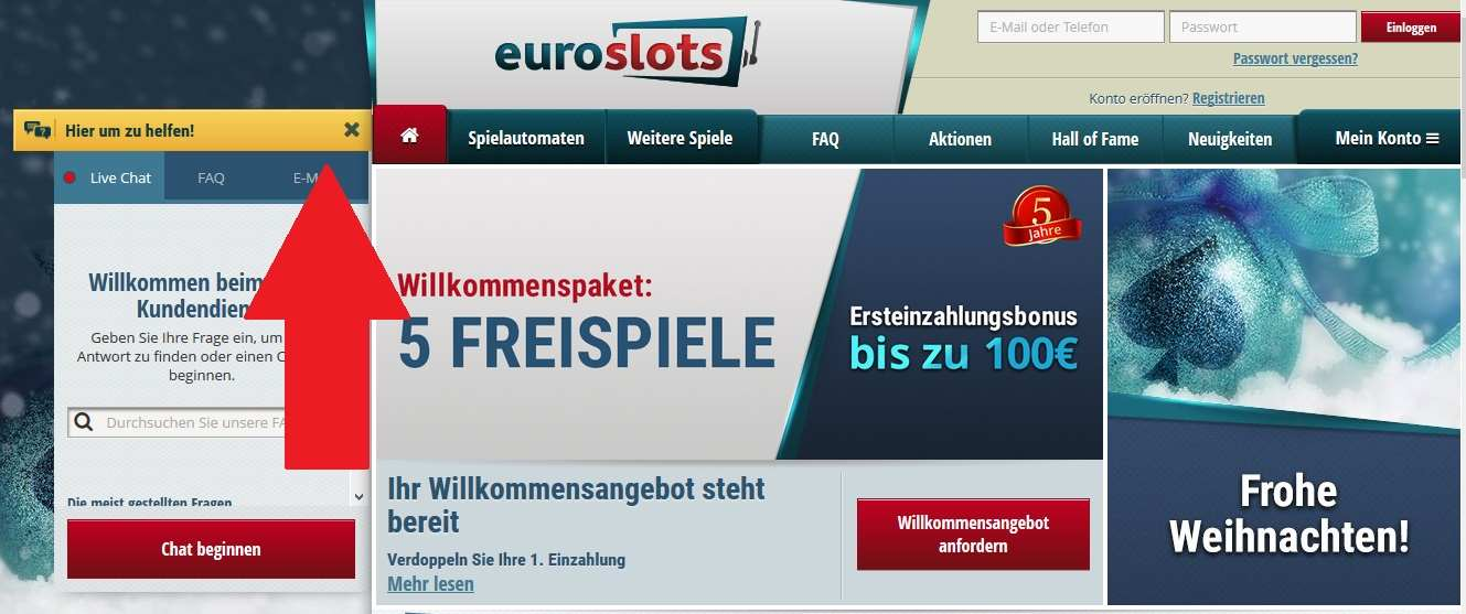 EuroSlots Support
