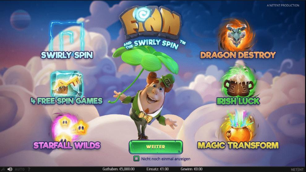Finn Swirly spinn