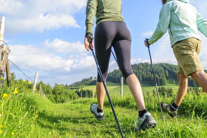 Bewegungsablauf beim Nordic Walking