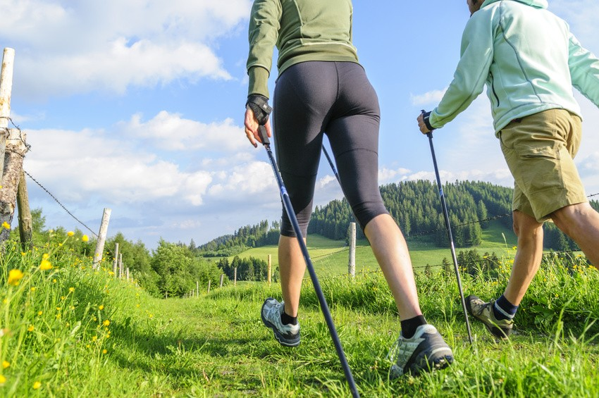 Bewegungsablauf Nordic Walking