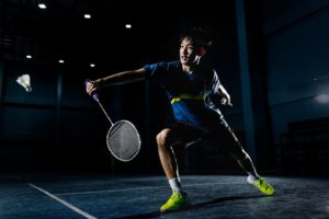 Badminton Technik