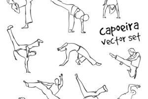 Capoeira Bewegungen