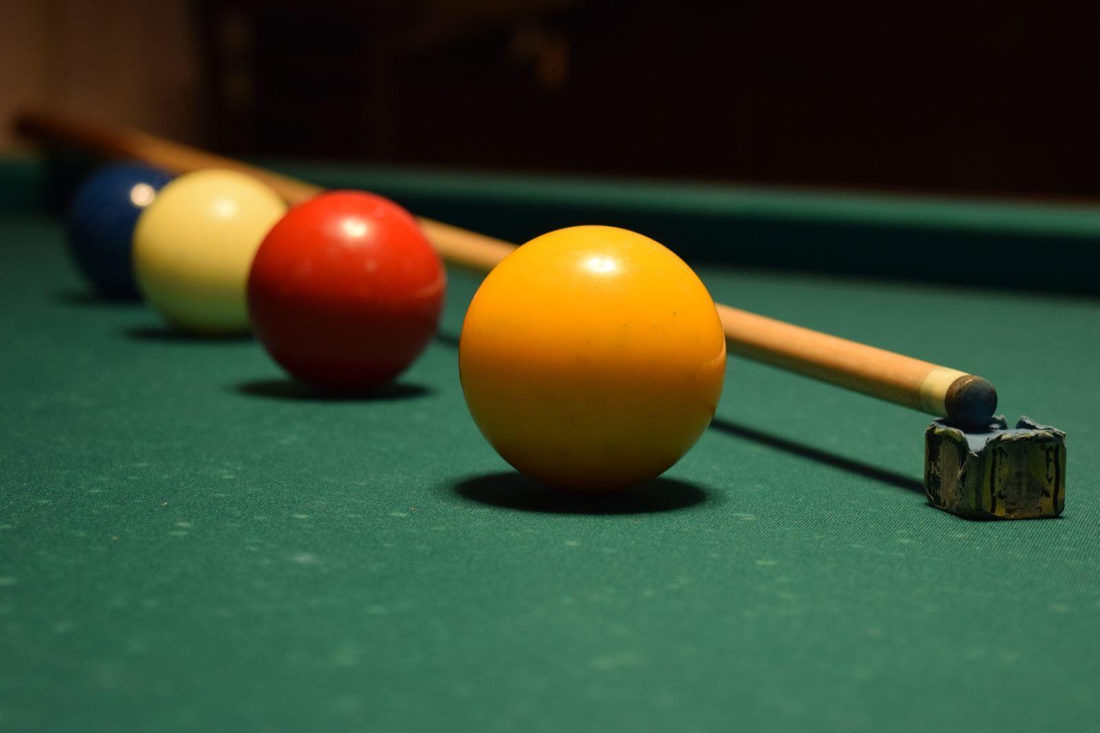 Ausdrücke beim Snooker