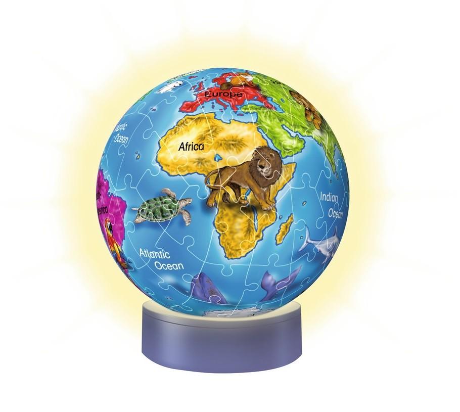 Globus 3D Puzzles