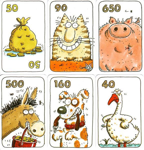 Kuhhandel Spielkarten