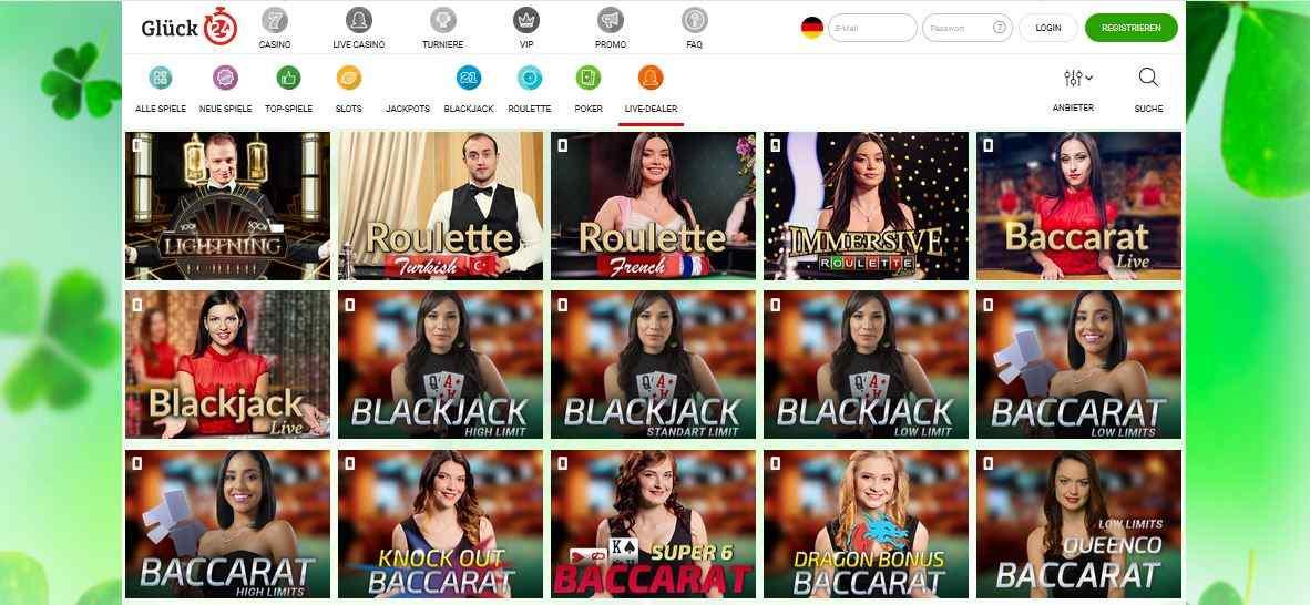 Live Casino Glück24