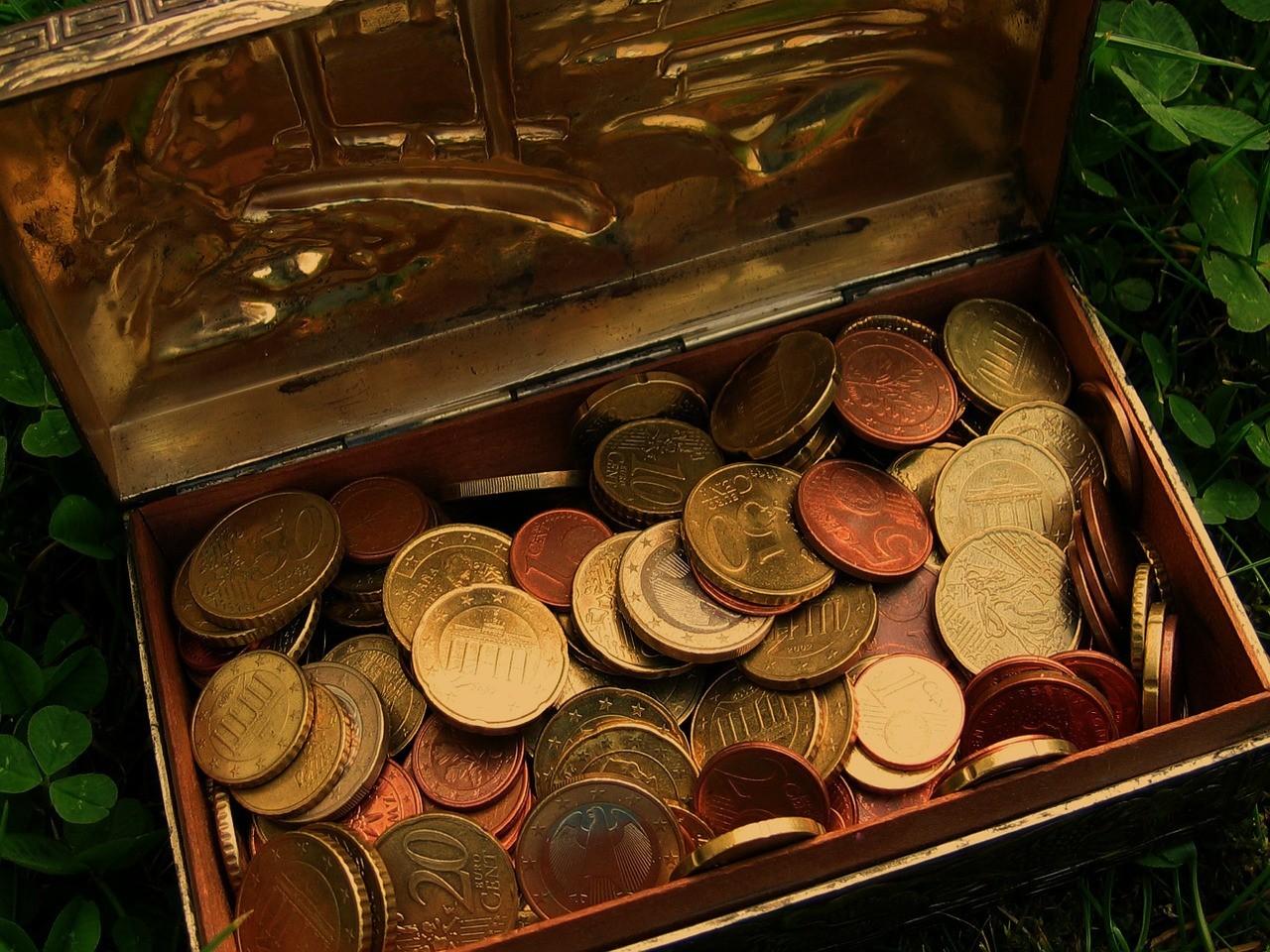 Münzen würfeln