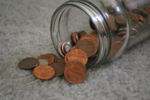 Münzen werfen