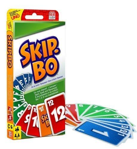 Skip bo Spielkarten