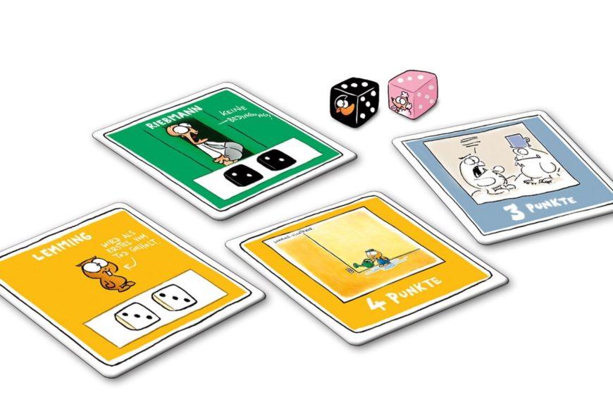 NichtLustig – Das Würfel- und Kartenspiel zu den beliebten Comics