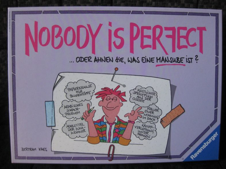 Nobody is perfect