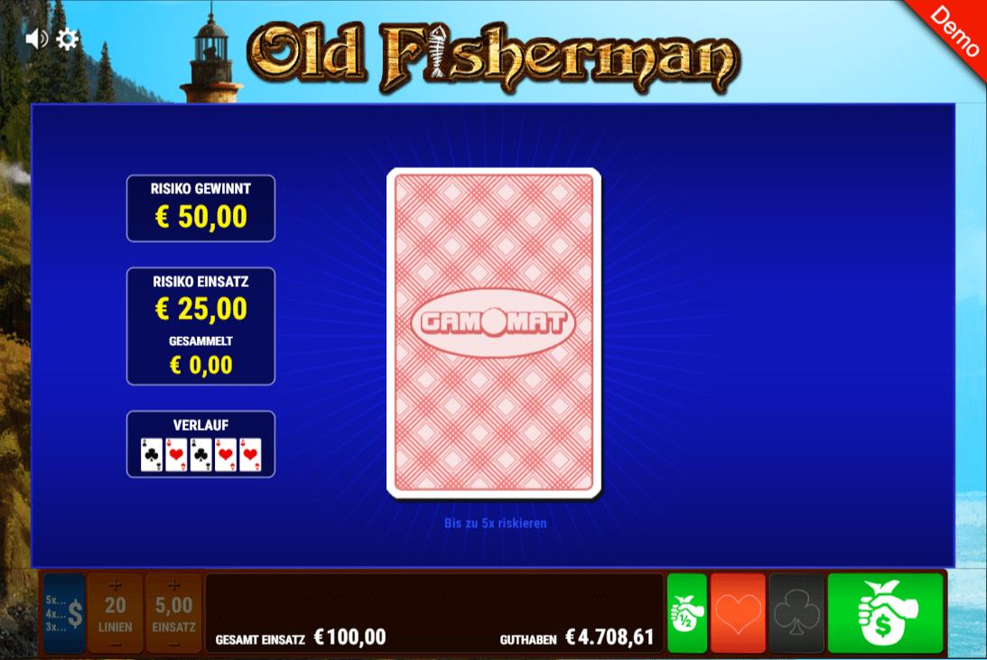 Old Fisherman Risiko Karten