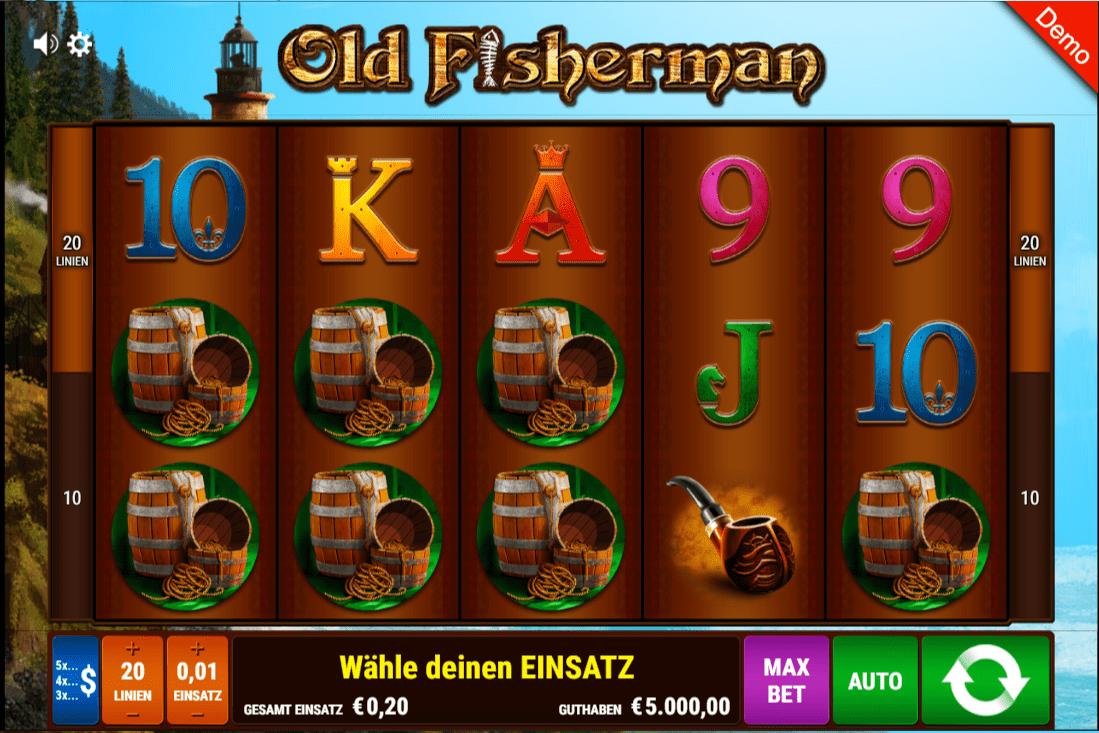 Old fisherman spielen