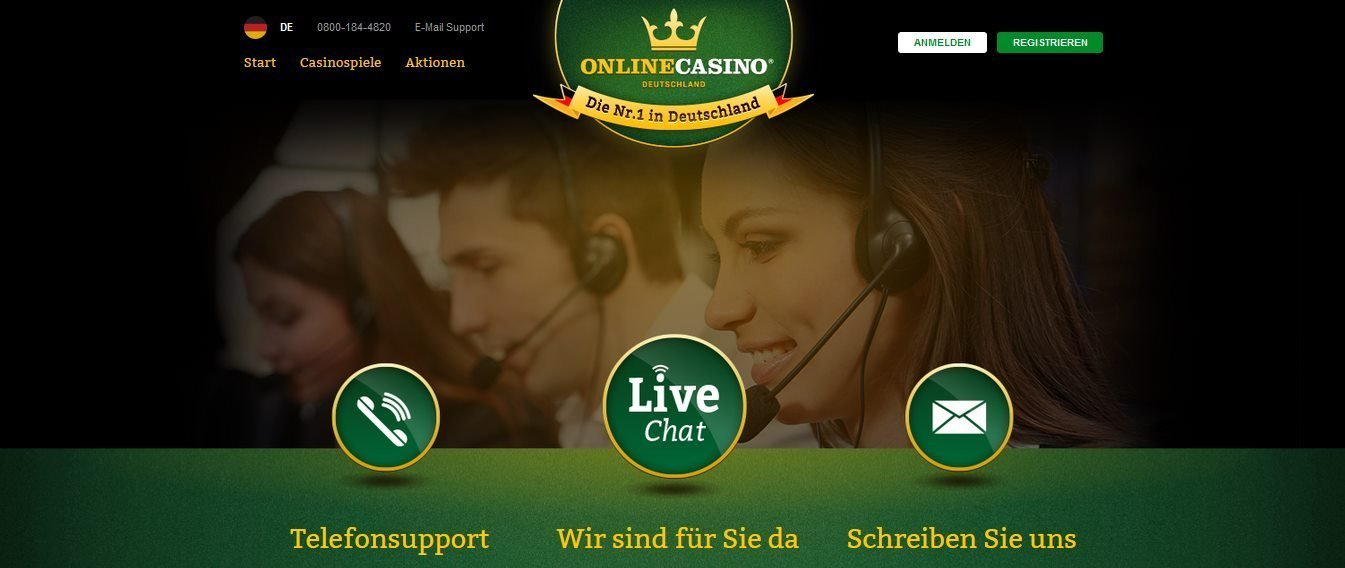 OnlineCasino Support