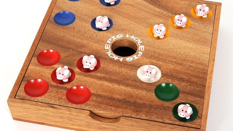 Schweinchen Würfelspiel