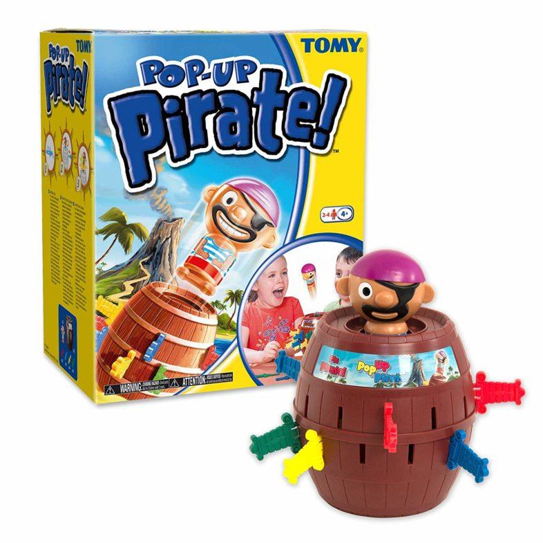 Pop Up Pirate spielanleitung