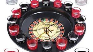 SO Trinkspiel Roulette incl Geschenkverpackung Party Spiel Saufspiel fr Erwachsene