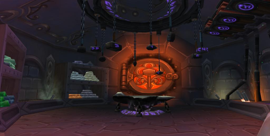 World of Warcraft - Schmiede