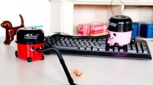 Schreibtisch-Staubsauger