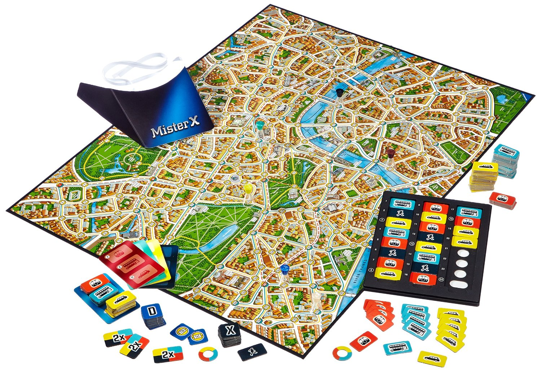 Scotland Yard Spielregeln