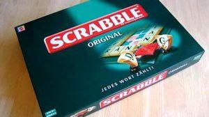 Spielmaterial von Scrabble