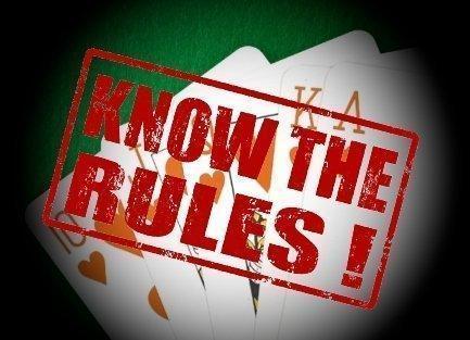 Spielregeln englisch