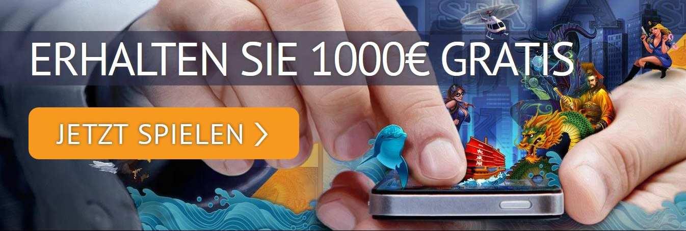 Spin Palace Willkommensbonus Handy