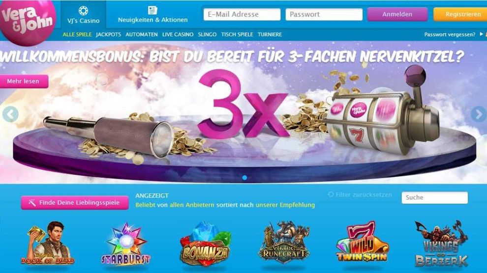 VeraundJohn Online Casino