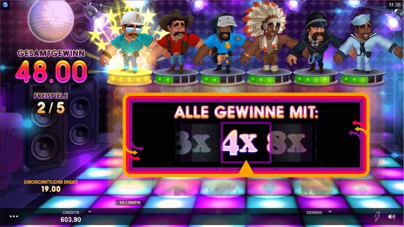 Village People Slot multiplikator