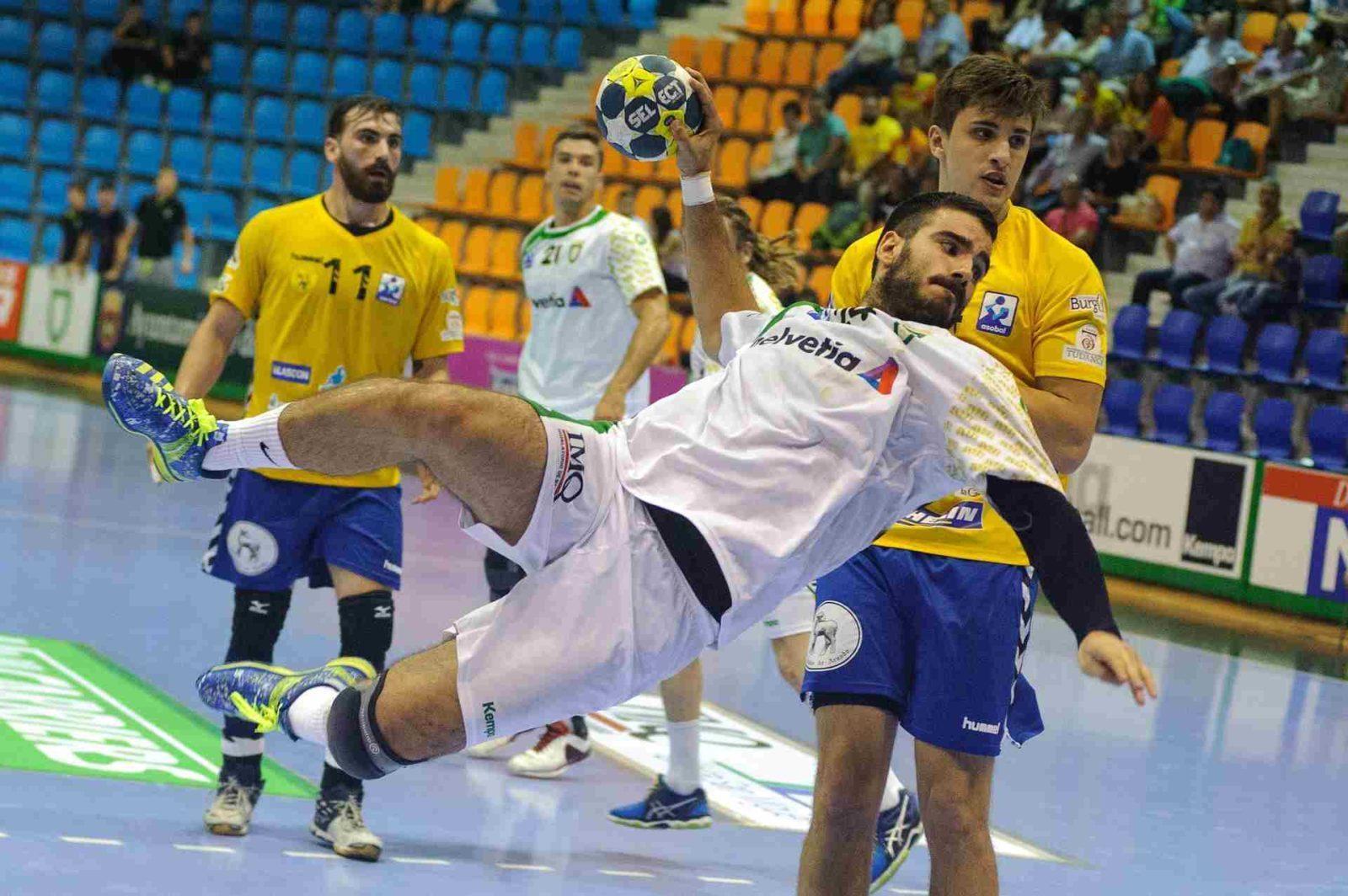abwurf handball