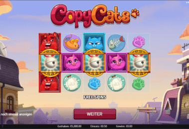 copy cats spiel