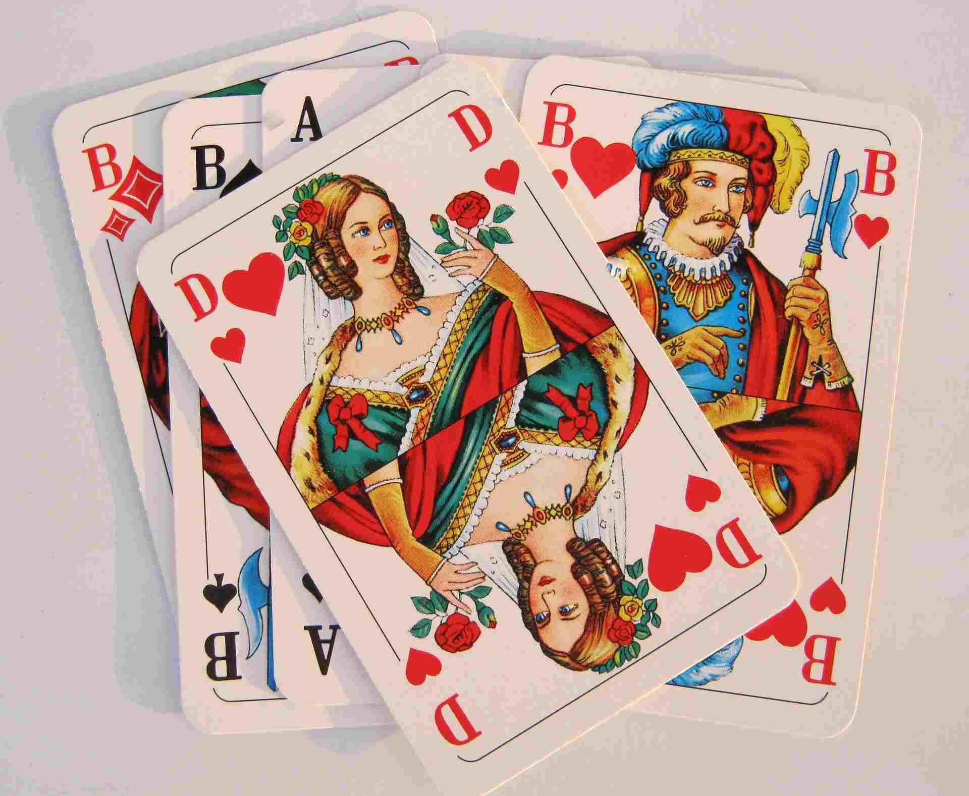 Kartenküssen