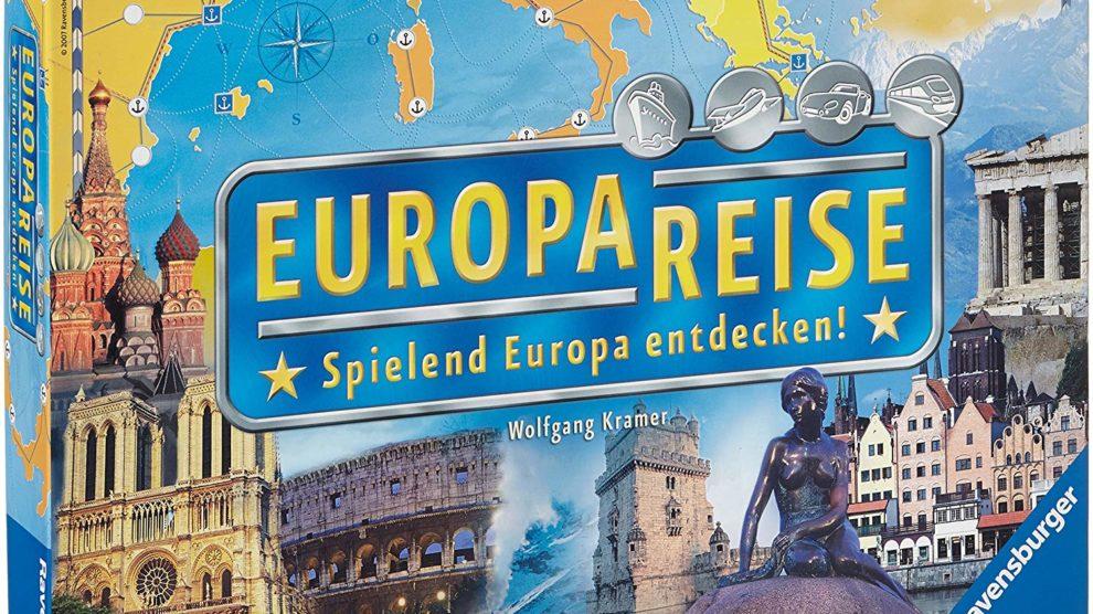 Europareise Spielanleitung