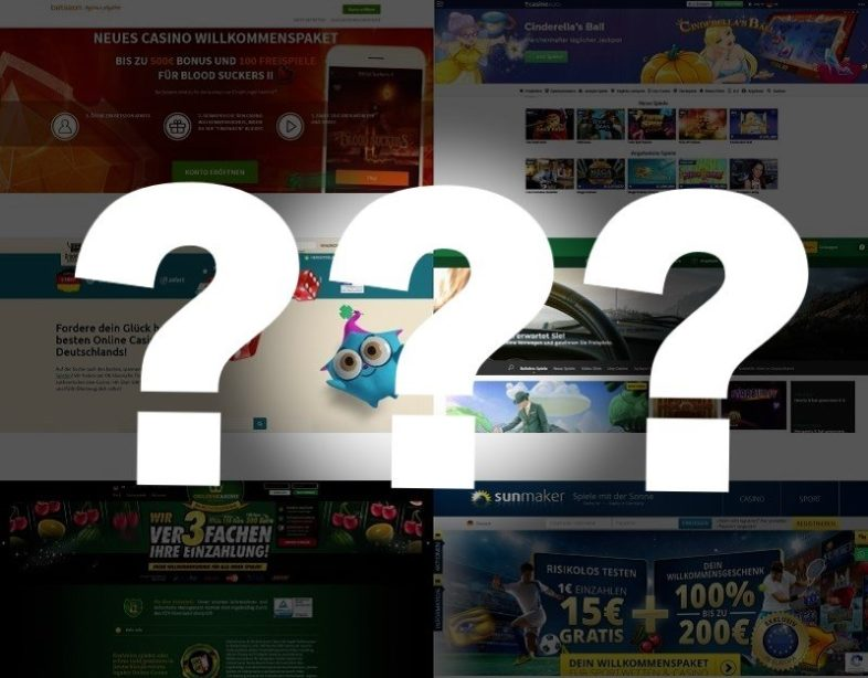 Unseriöse online Casinos